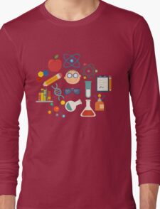 The Scientist - Modern Retro  Long Sleeve T-Shirt