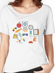 The Scientist - Modern Retro  Women's Relaxed Fit T-Shirt