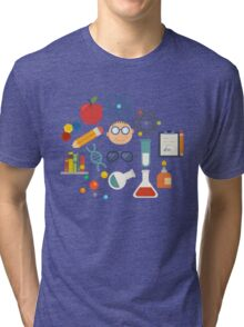 The Scientist - Modern Retro  Tri-blend T-Shirt