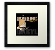 The Walking Dude - Daryl Edition Framed Print