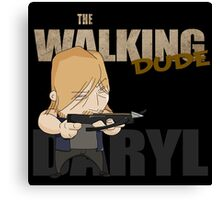 The Walking Dude - Daryl Edition Canvas Print