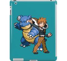 Blue and Blastoise iPad Case/Skin