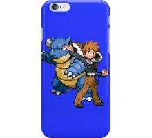 Blue and Blastoise iPhone Case/Skin