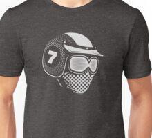 Lucky Seven (white) Unisex T-Shirt