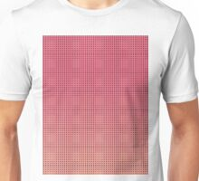 Pattern 033 Pink and dark blue dots Unisex T-Shirt