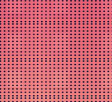 Pattern 033 Pink and dark blue dots Sticker