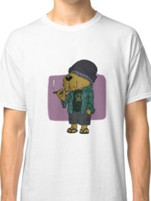 Chilled Hipster Dog Classic T-Shirt