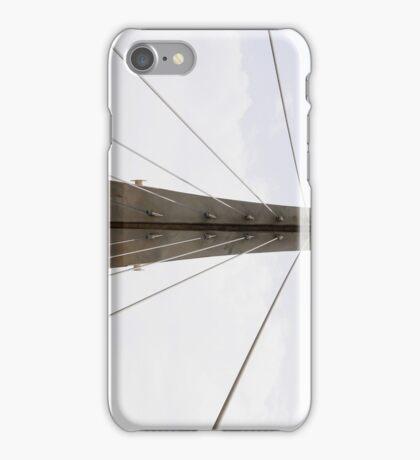 Overhead Bridge Wires iPhone Case/Skin