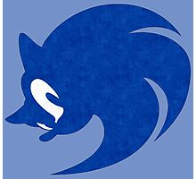 -GEEK- Sonic Face Photographic Print