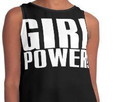 Girl Power (White) Contrast Tank
