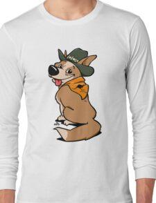 Australian cattle dog cartoon Long Sleeve T-Shirt