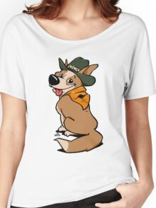 Australian cattle dog cartoon Women's Relaxed Fit T-Shirt