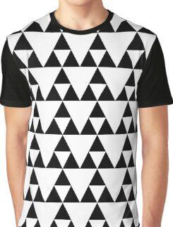 Triforce pattern Graphic T-Shirt