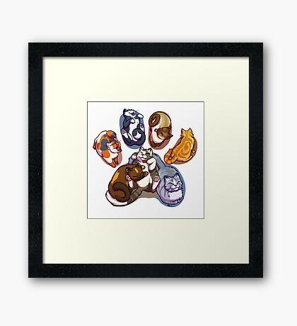 Beans! Framed Print