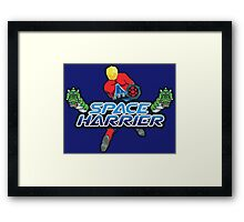 SPACE HARRIER CLASSIC ARCADE GAME Framed Print