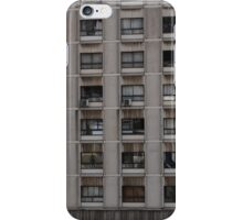 Run down living area in Gibraltar Abstract iPhone Case/Skin