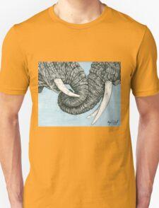 Entangled Elephants Unisex T-Shirt