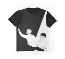 JinMin 'Contrast' Graphic T-Shirt