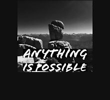 ANYTHING IS POSSIBLE BW Women's Tank Top