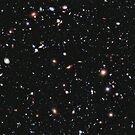 Hubble, Nasa, Extreme Deep Field image, space, constellation, Fornax by TOM HILL - Designer