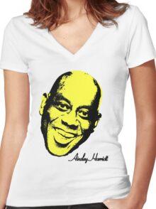 Ainsley Harriott (harriot) Warhol - Velvet Underground Women's Fitted V-Neck T-Shirt