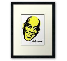 Ainsley Harriott (harriot) Warhol - Velvet Underground Framed Print