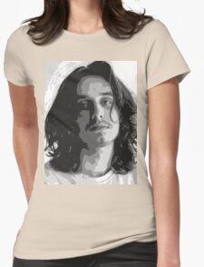 Pouya - Black & White Womens Fitted T-Shirt