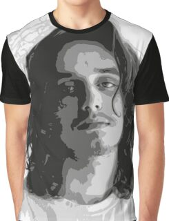 Pouya - Black & White Graphic T-Shirt