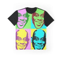 Ainsley Harriott (Harriot) Warhol print Graphic T-Shirt