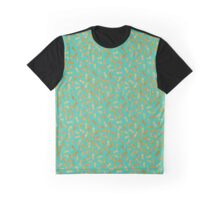 Boiled Peanuts - Teal Graphic T-Shirt