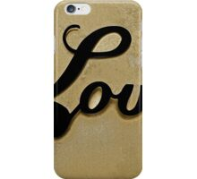 Love Graphic iPhone Case/Skin