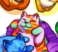Rainbow Beans! Sticker