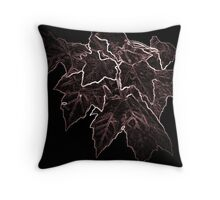 Leaves Mellow Throw Pillow