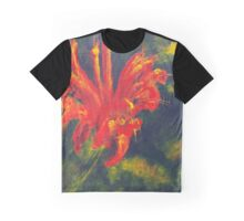 Fire Flower (acrylic) Graphic T-Shirt