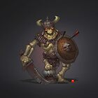 Skeleton Warrior by BitGem