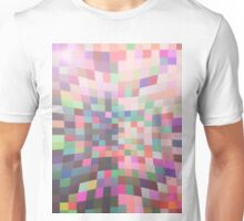Pattern 038 Multi Color Rainbow Pinch Unisex T-Shirt