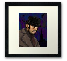 Black Hat from Priest Framed Print
