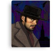 Black Hat from Priest Canvas Print