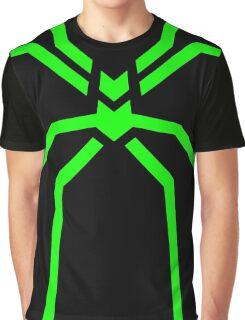 Stealth Spider Green Graphic T-Shirt