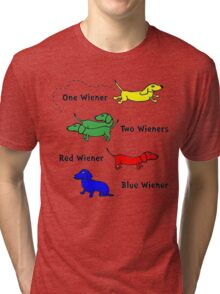 Only for Wiener Dog Lovers.! Tri-blend T-Shirt