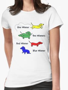 Only for Wiener Dog Lovers.! Womens Fitted T-Shirt