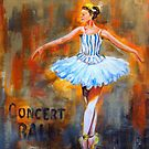 City Ballet by Susan Bergstrom