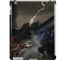 crazy chicken run iPad Case/Skin