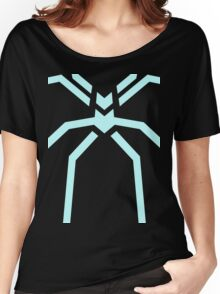 Stealth Spider Blue Women's Relaxed Fit T-Shirt