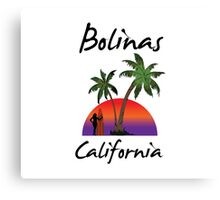 Bolinas California Canvas Print