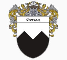 Genao Coat of Arms/Family Crest Kids Tee