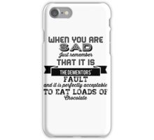 The Dementors' fault iPhone Case/Skin