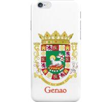 Genao Shield of Puerto Rico iPhone Case/Skin