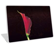 Red Arum Lily Laptop Skin