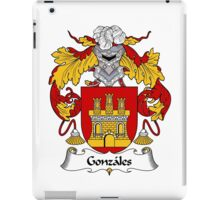 Gonzales Coat of Arms/Family Crest iPad Case/Skin